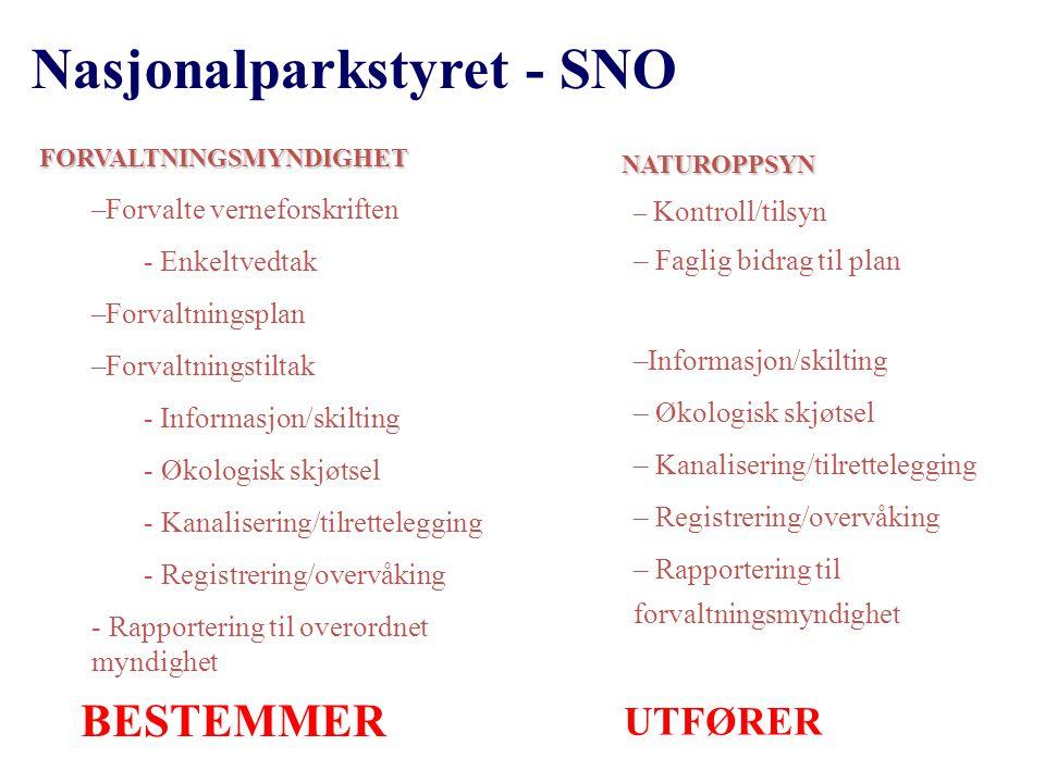 Nasjonalparkstyret - SNO