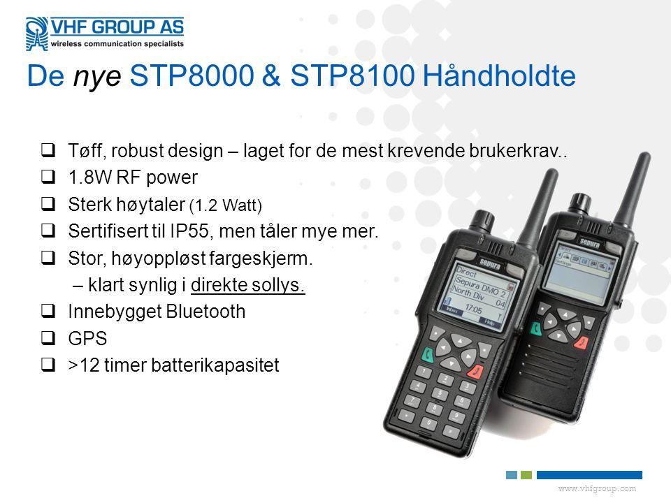 De nye STP8000 & STP8100 Håndholdte