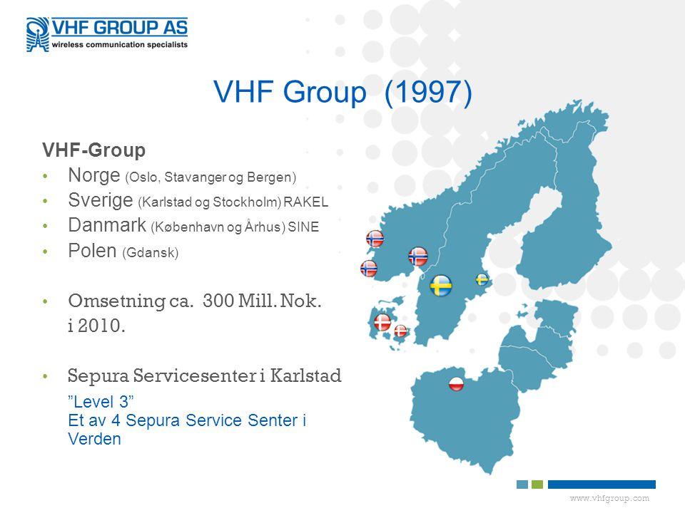 VHF Group (1997) VHF-Group Norge (Oslo, Stavanger og Bergen)