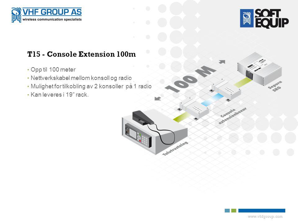 T15 - Console Extension 100m Opp til 100 meter
