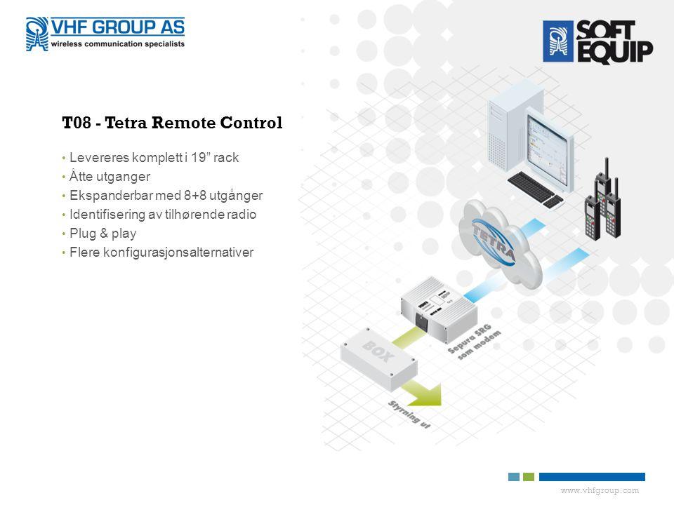 T08 - Tetra Remote Control
