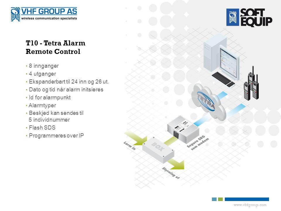 T10 - Tetra Alarm Remote Control