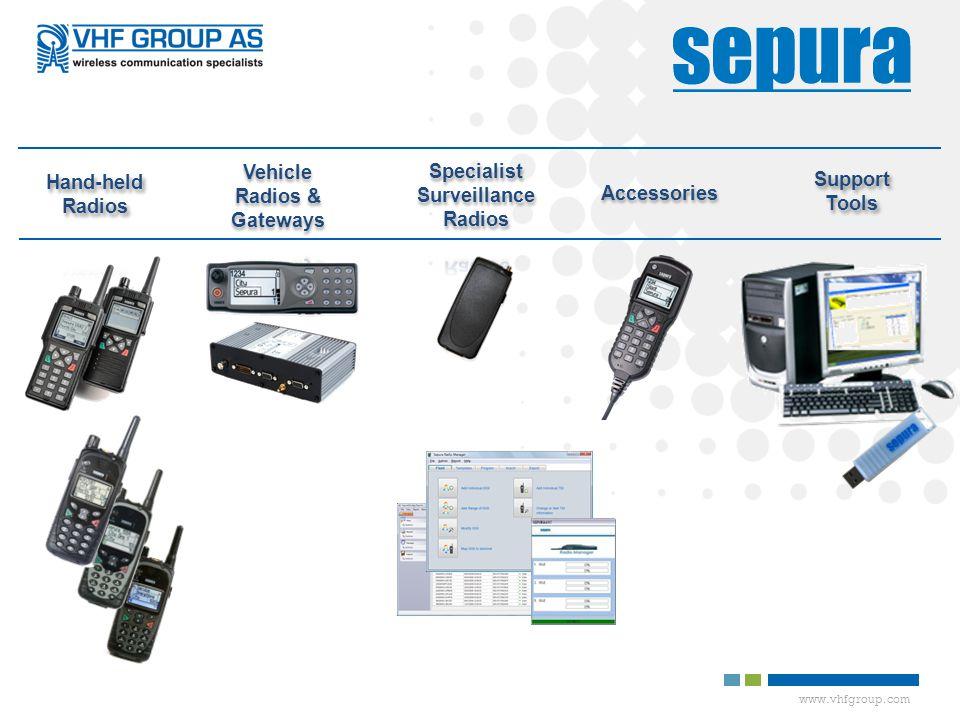 Specialist Surveillance Radios