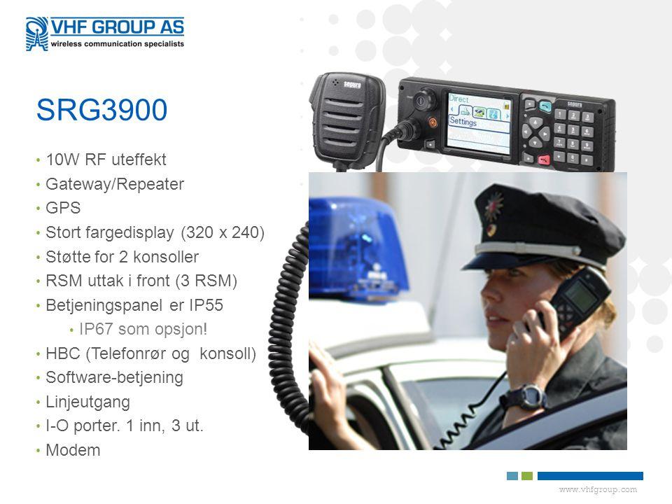 SRG3900 10W RF uteffekt Gateway/Repeater GPS