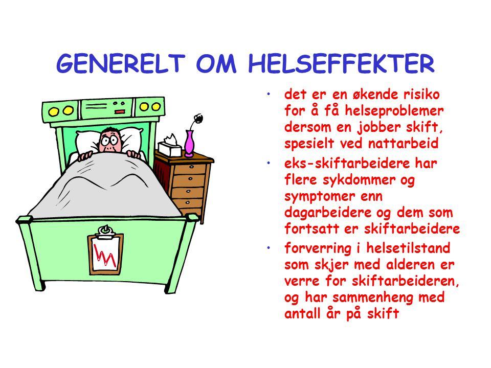 GENERELT OM HELSEFFEKTER