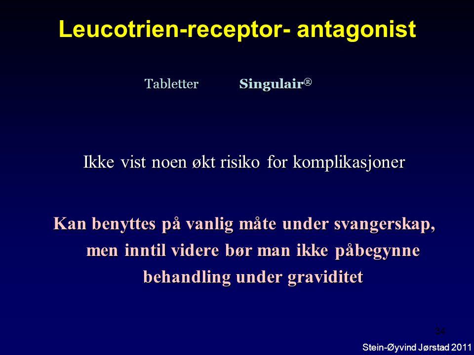 Leucotrien-receptor- antagonist