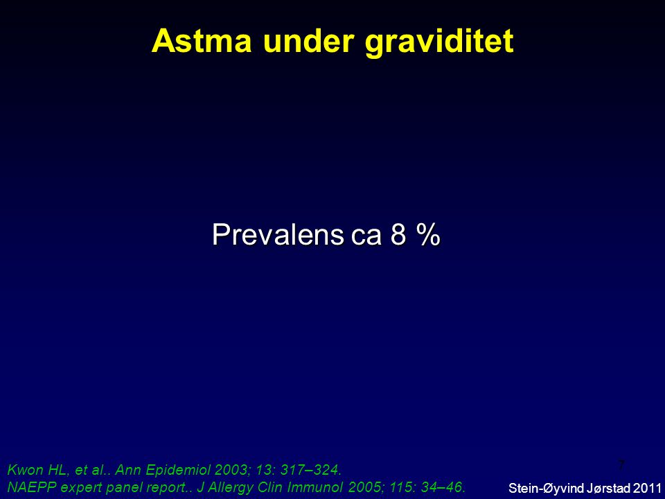 Astma under graviditet
