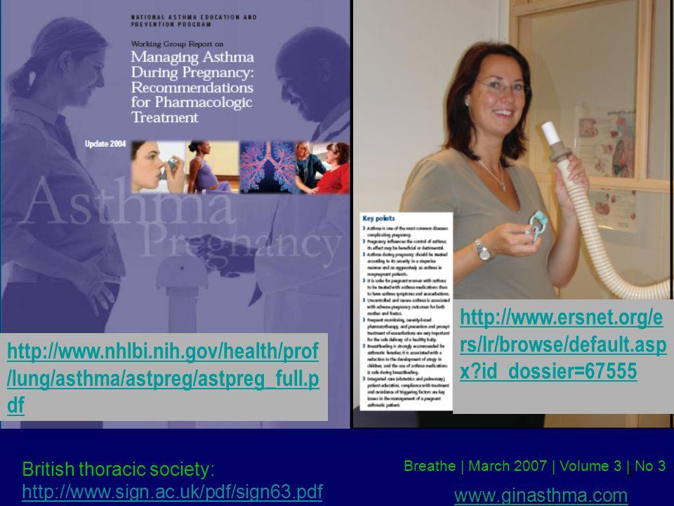 http://www.nhlbi.nih.gov/health/prof/lung/asthma/astpreg/astpreg_full.pdf http://www.ersnet.org/ers/lr/browse/default.aspx id_dossier=67555.