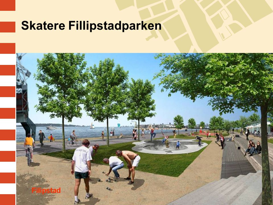 Skatere Fillipstadparken