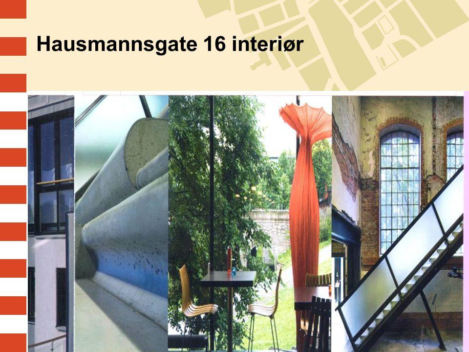 Hausmannsgate 16 interiør