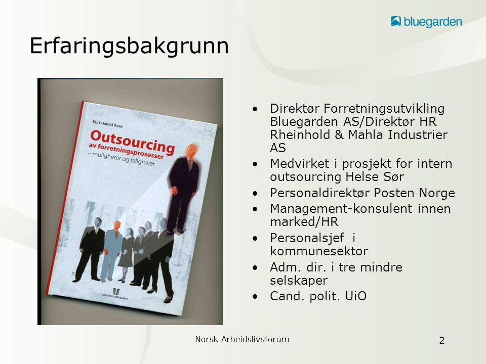 Norsk Arbeidslivsforum