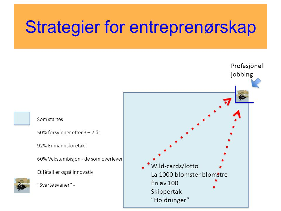 Strategier for entreprenørskap