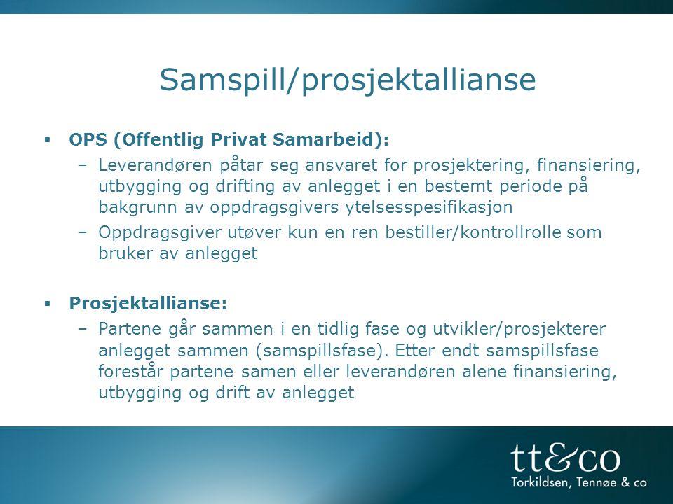 Samspill/prosjektallianse