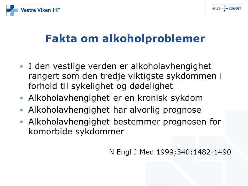 Fakta om alkoholproblemer