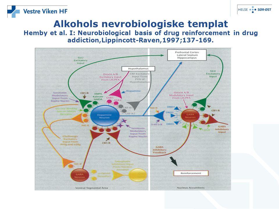 Alkohols nevrobiologiske templat Hemby et al