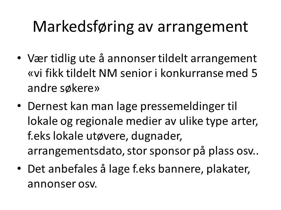 Markedsføring av arrangement