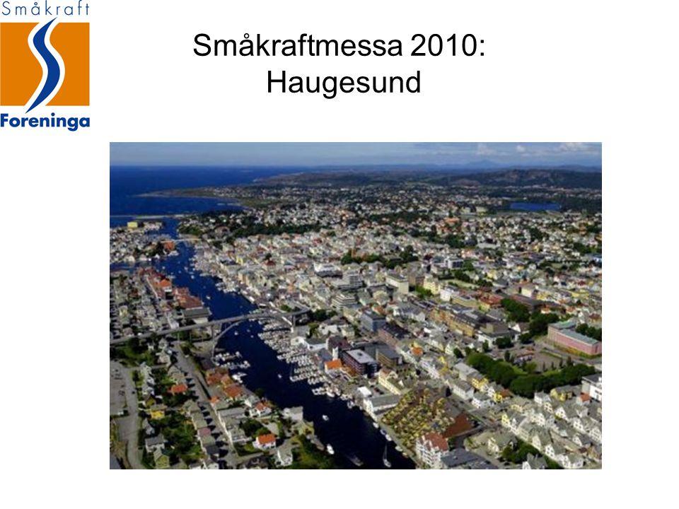 Småkraftmessa 2010: Haugesund