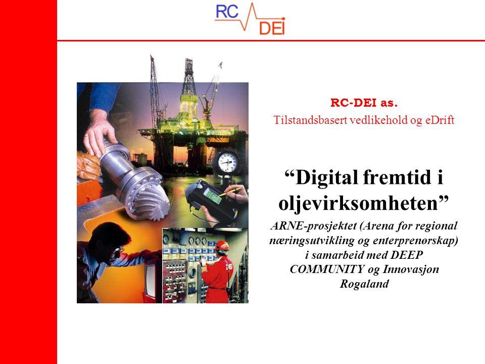 Digital fremtid i oljevirksomheten