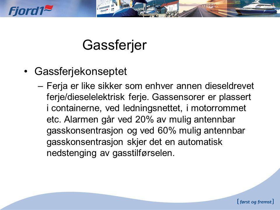Gassferjer Gassferjekonseptet