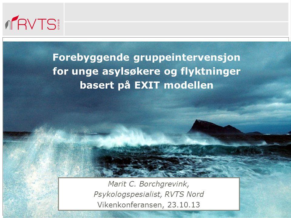Forebyggende gruppeintervensjon for unge asylsøkere og flyktninger
