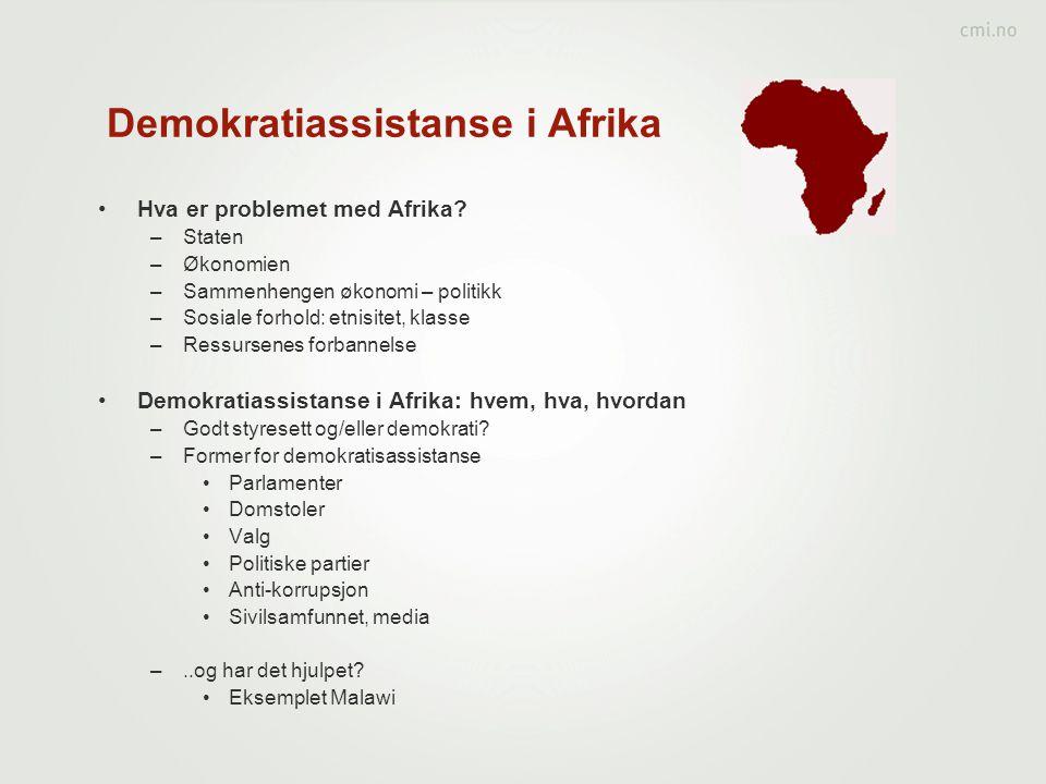 Demokratiassistanse i Afrika