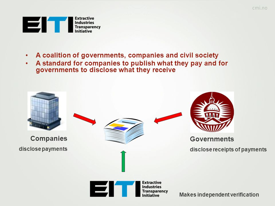 A coalition of governments, companies and civil society