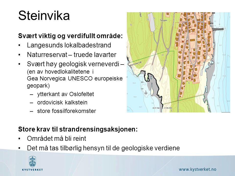 Steinvika Svært viktig og verdifullt område: