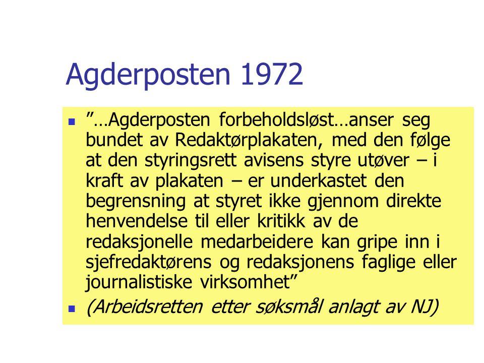 Agderposten 1972