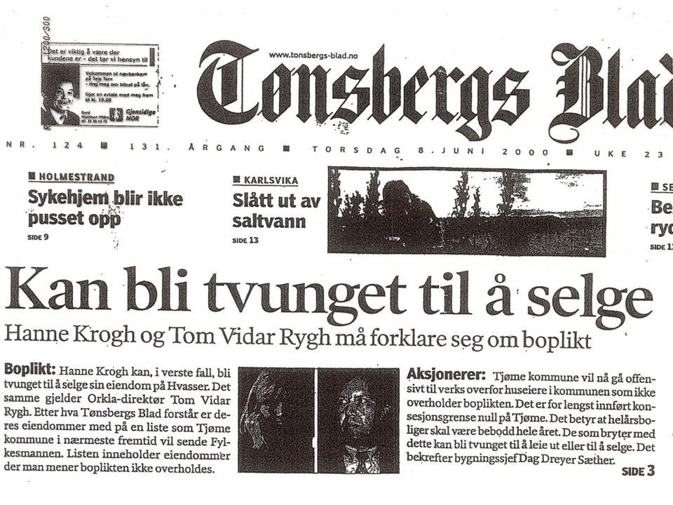 Tønsbergs Blad boplikt
