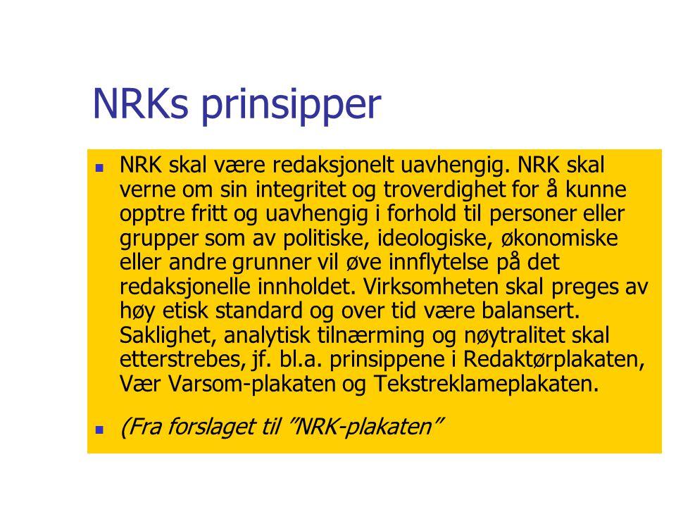NRKs prinsipper