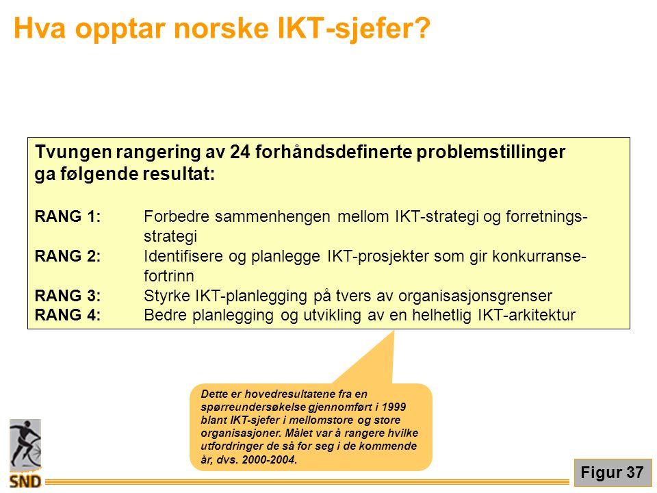 Hva opptar norske IKT-sjefer