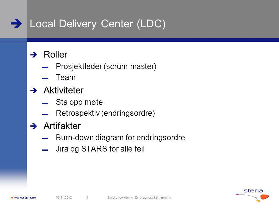 Local Delivery Center (LDC)