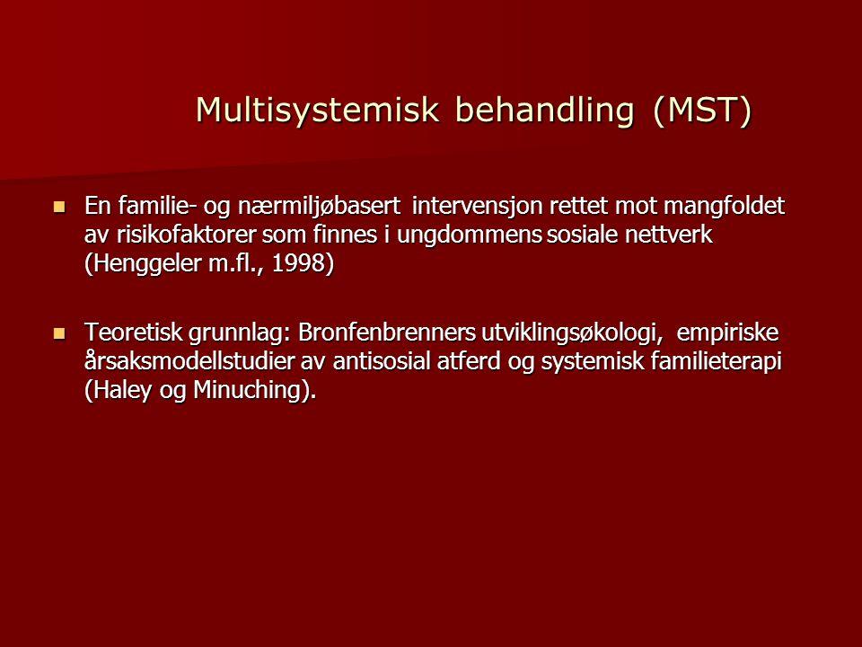 Multisystemisk behandling (MST)