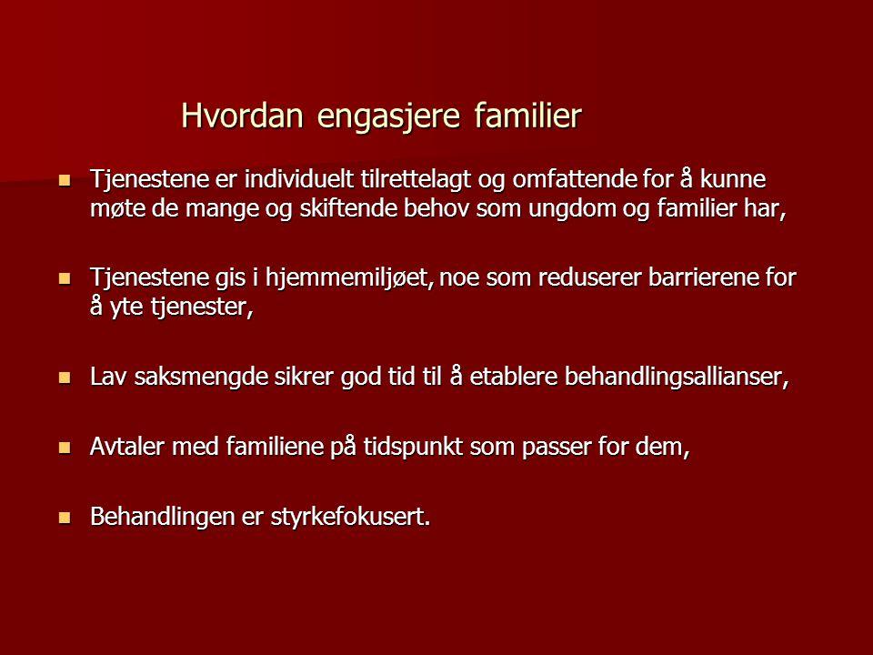 Hvordan engasjere familier