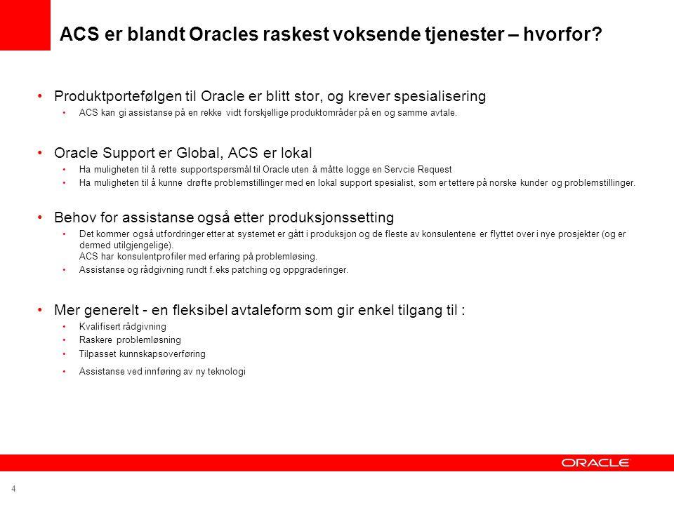 ACS er blandt Oracles raskest voksende tjenester – hvorfor