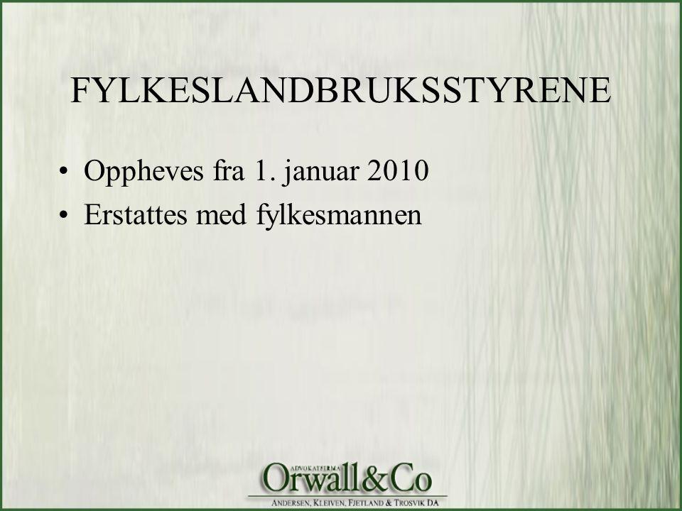 FYLKESLANDBRUKSSTYRENE