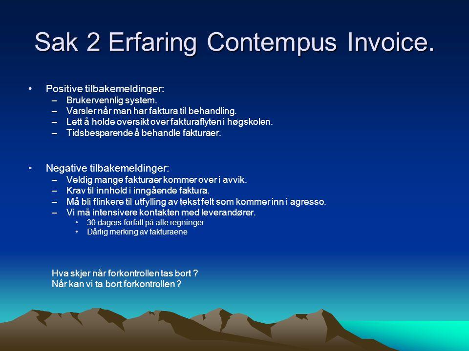 Sak 2 Erfaring Contempus Invoice.