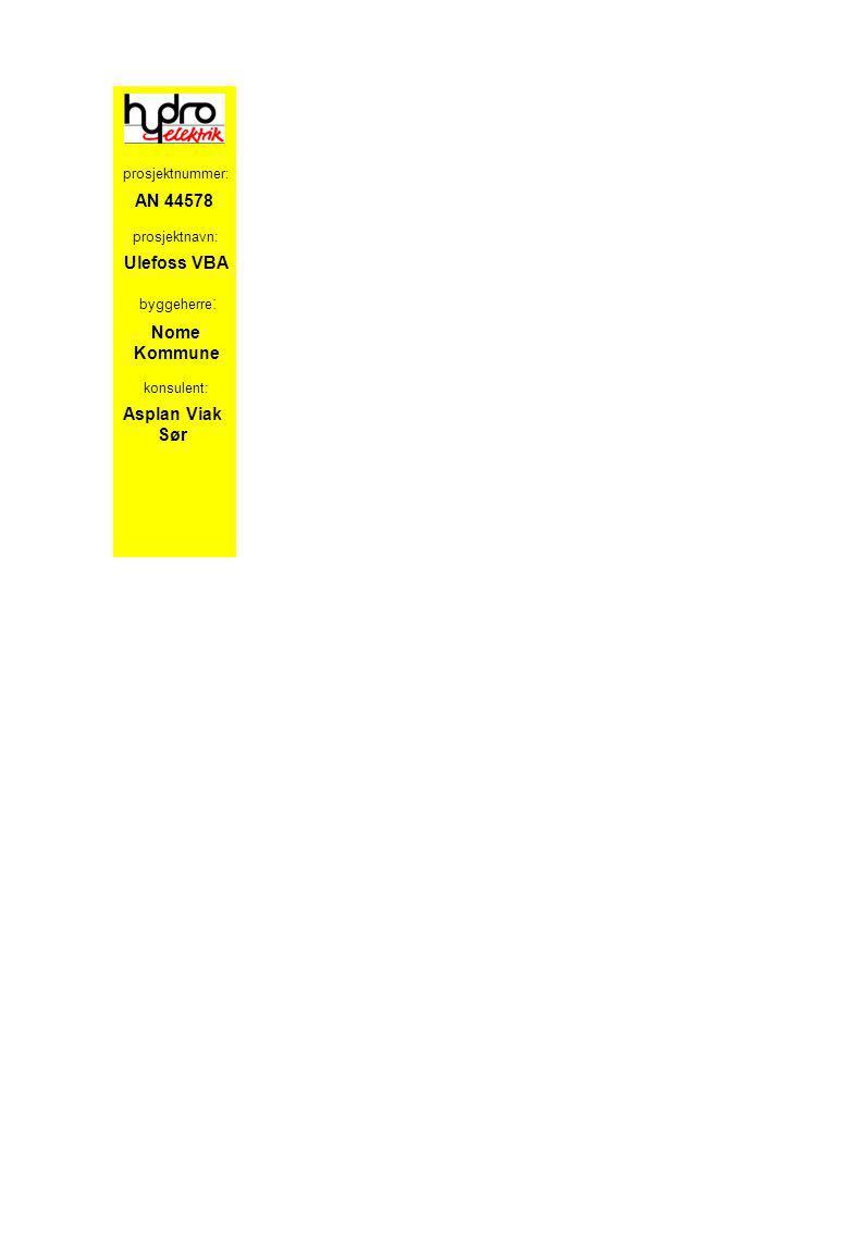 AN 44578 Ulefoss VBA Nome Kommune Asplan Viak Sør