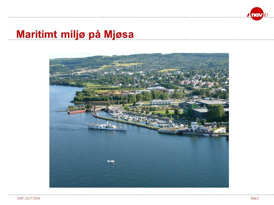 Maritimt miljø på Mjøsa