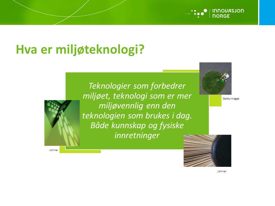 Hva er miljøteknologi
