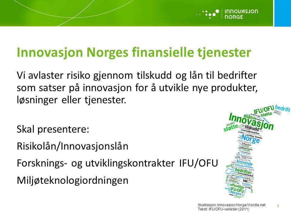 Innovasjon Norges finansielle tjenester