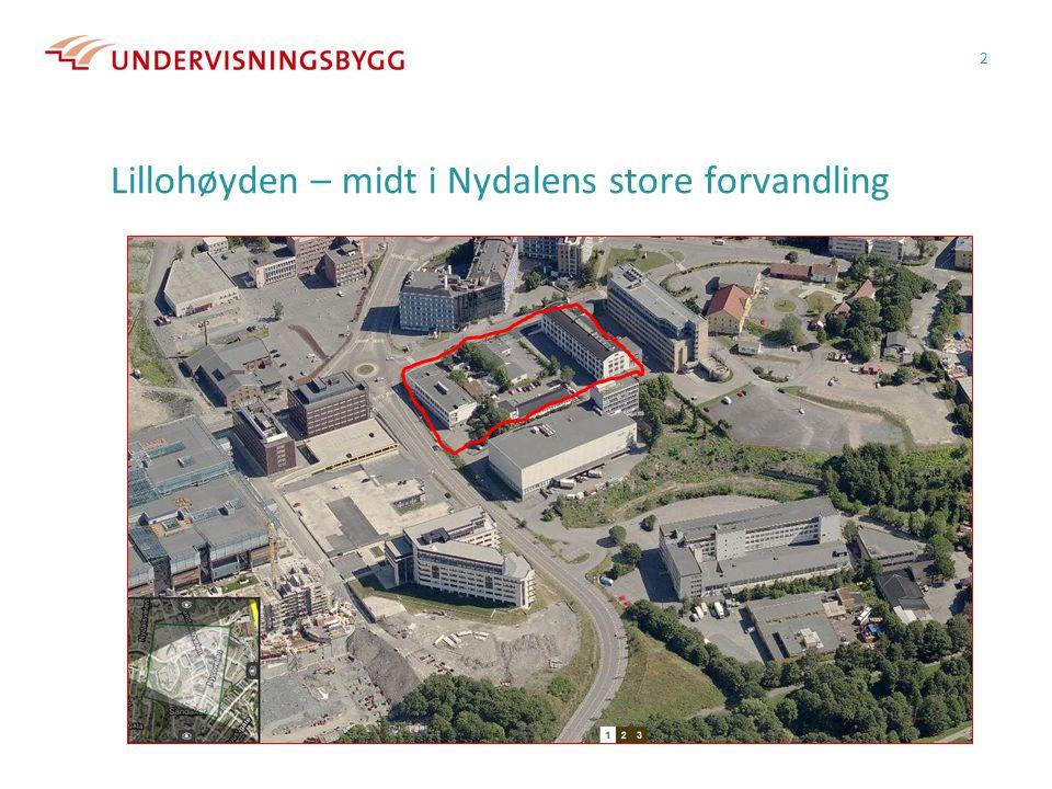 Lillohøyden – midt i Nydalens store forvandling