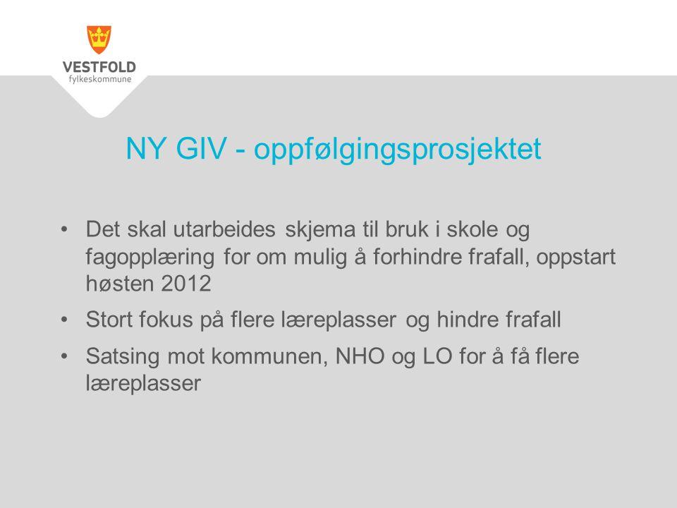 NY GIV - oppfølgingsprosjektet
