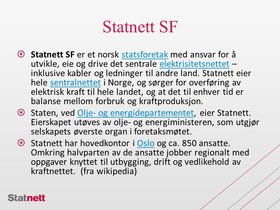 Statnett SF