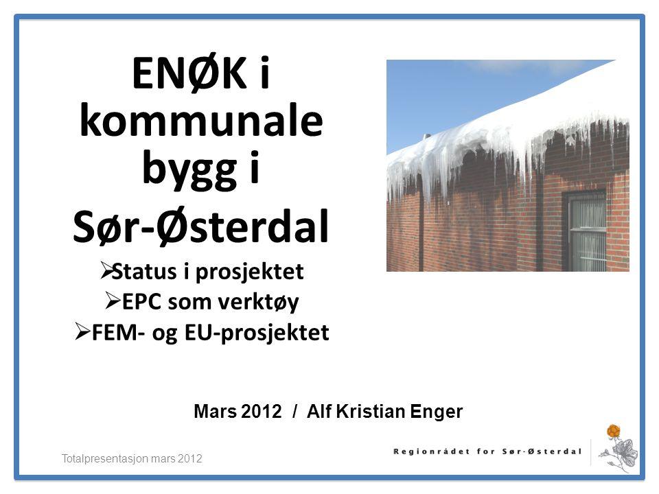 Mars 2012 / Alf Kristian Enger