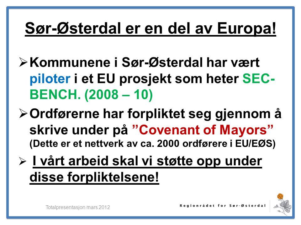 Sør-Østerdal er en del av Europa!
