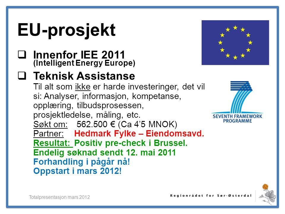 Totalpresentasjon mars 2012