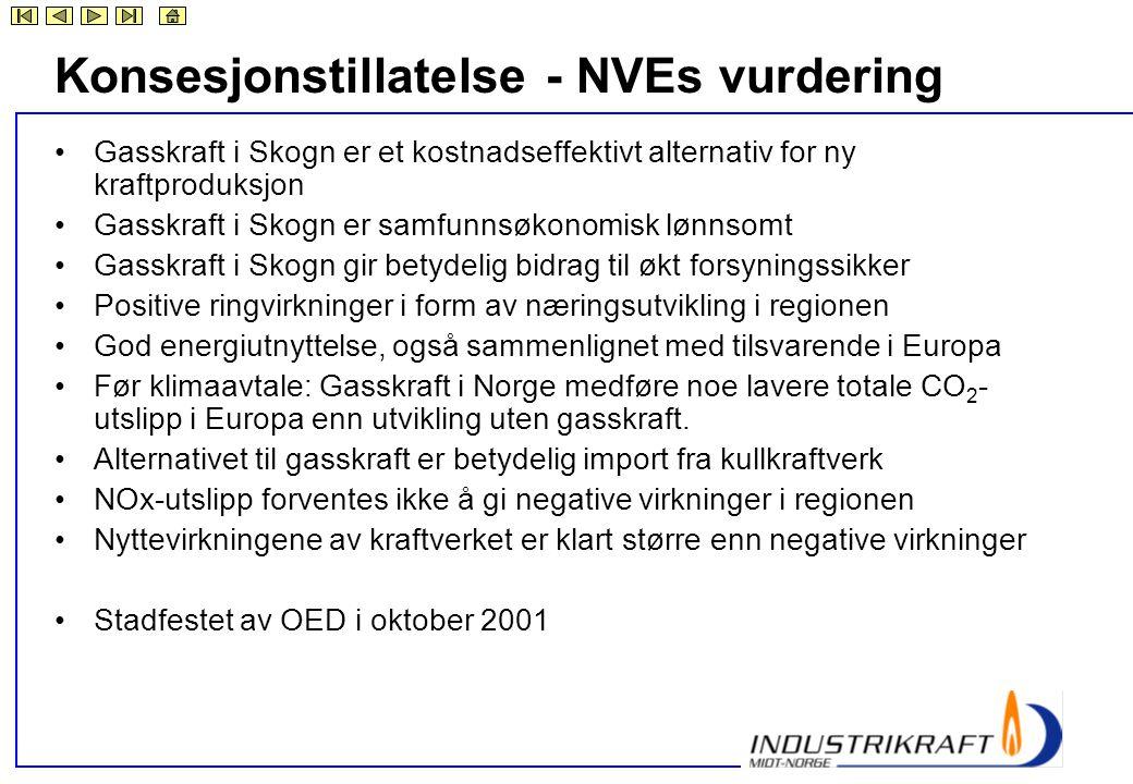 Konsesjonstillatelse - NVEs vurdering