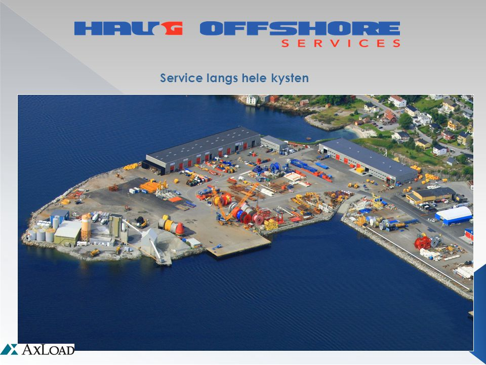 Service langs hele kysten