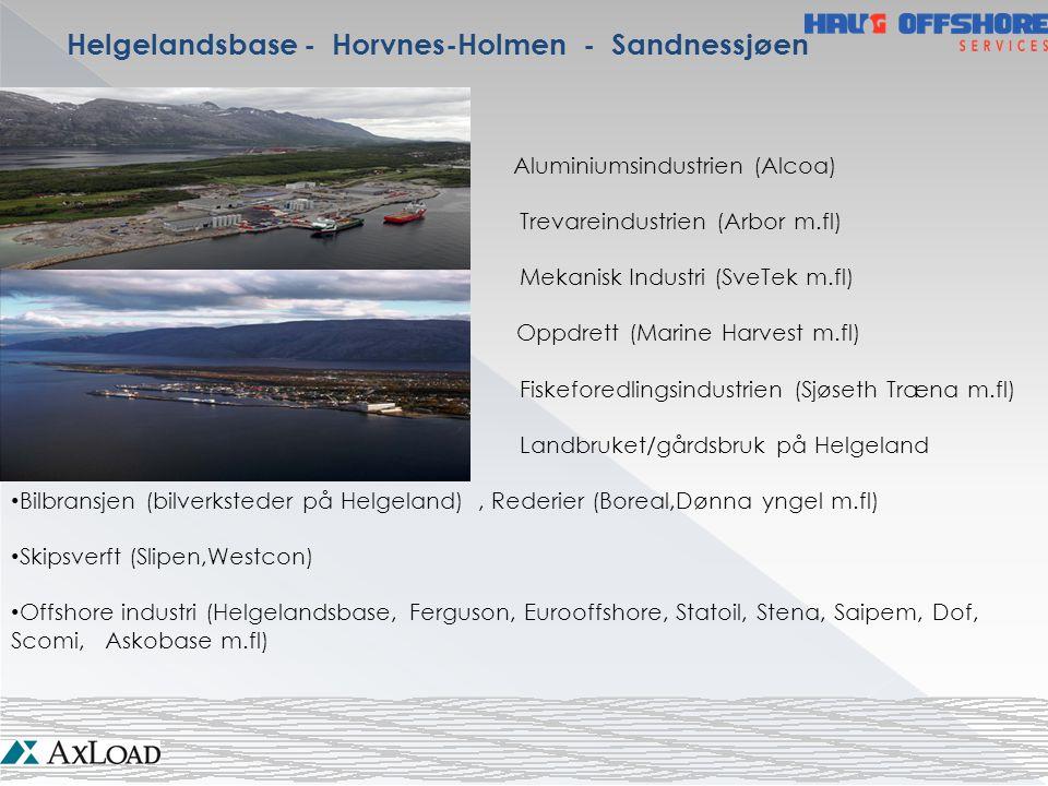 Helgelandsbase - Horvnes-Holmen - Sandnessjøen